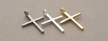 Μοντέρνοι χειροποίητοι σταυροί SilverJewelleryPlus