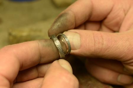 Χειροποίητα δαχτυλίδια γάμου - αρραβώνα